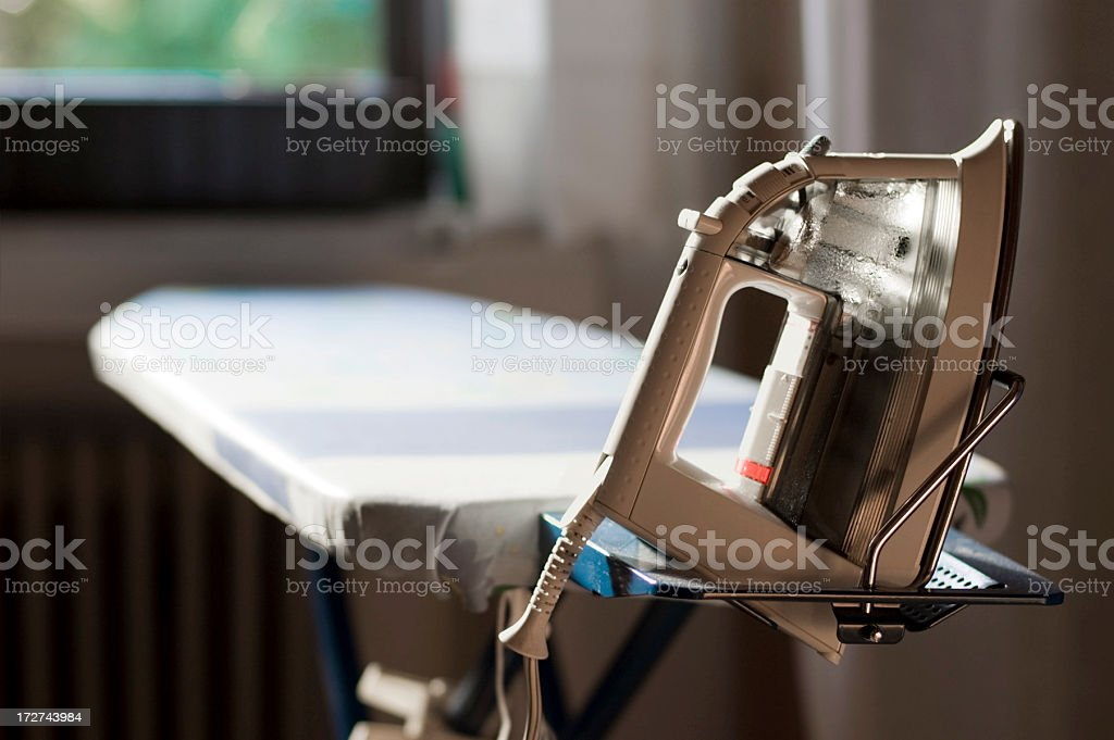 Electric Iron stock photo