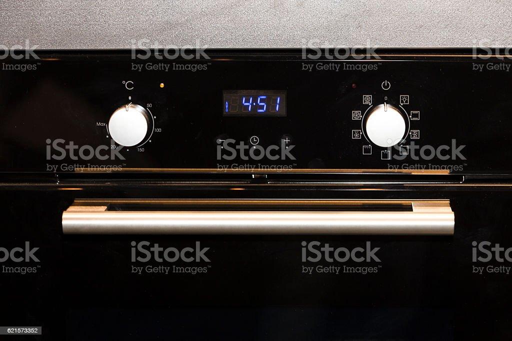 electric kitchen oven photo libre de droits