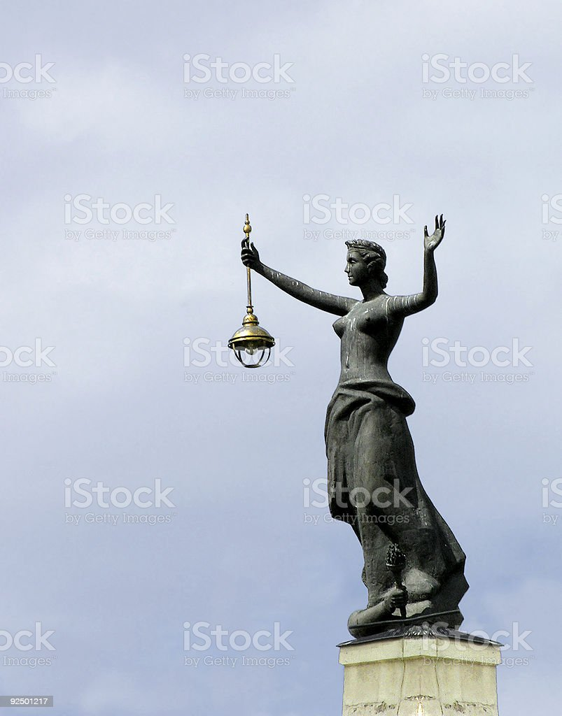 Electric landmark royalty-free stock photo