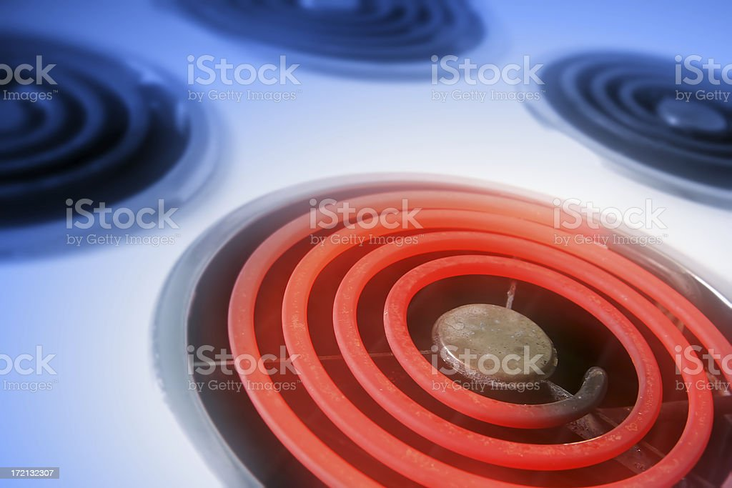 Electric hob 1 stock photo