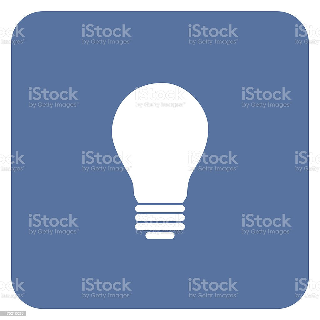 Electric light bulb royalty-free stock photo
