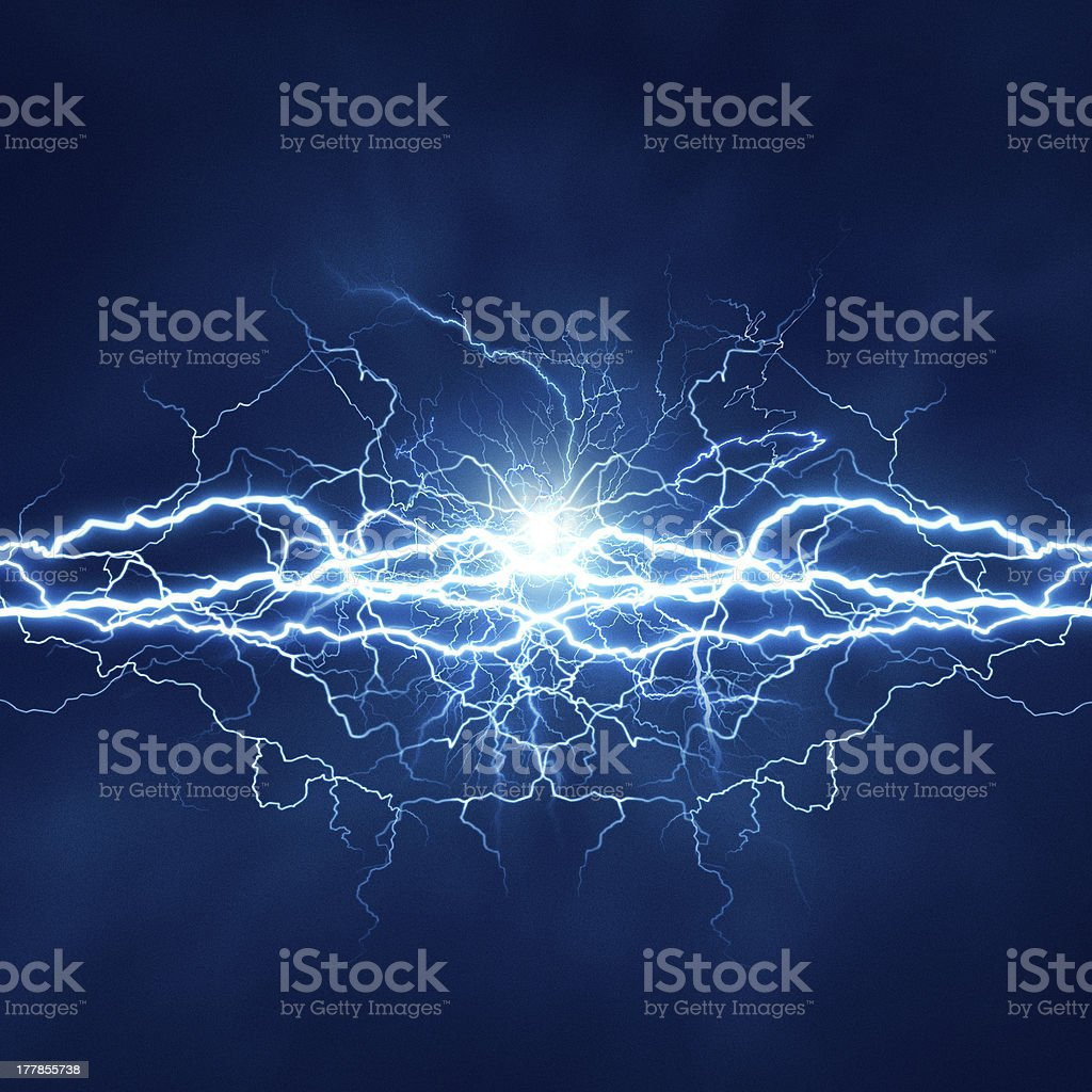Electric lighting effect, abstract techno backgrounds for your d stock photo