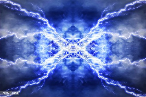 503731700 istock photo Electric lighting effect, abstract techno backgrounds 503731454