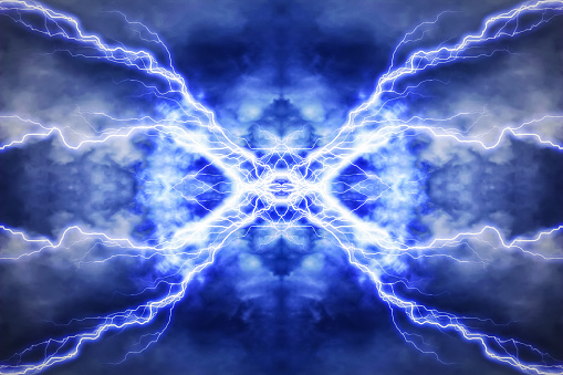 600401714 istock photo Electric lighting effect, abstract techno backgrounds 503731454
