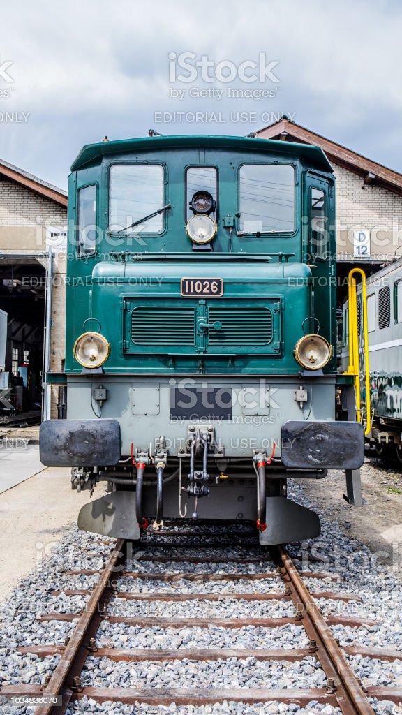 Elektrische Lokomotive SBB Ae 4/7 – Foto