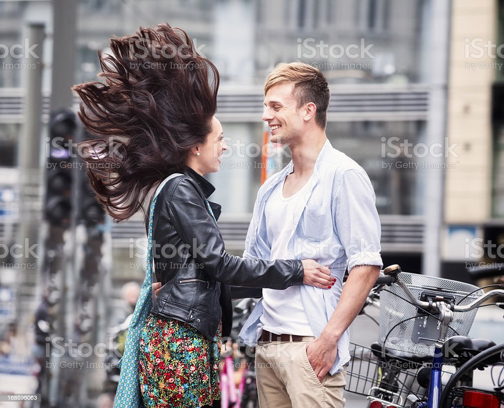 Electric Love Connection royalty-free stock photo