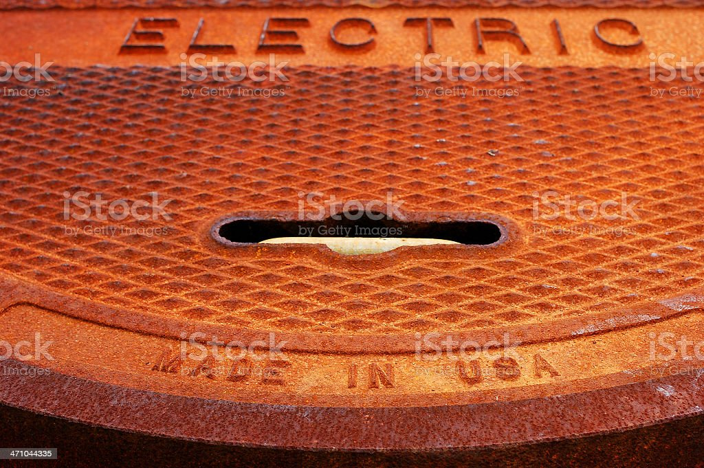 Electric, made in USA royalty-free stock photo