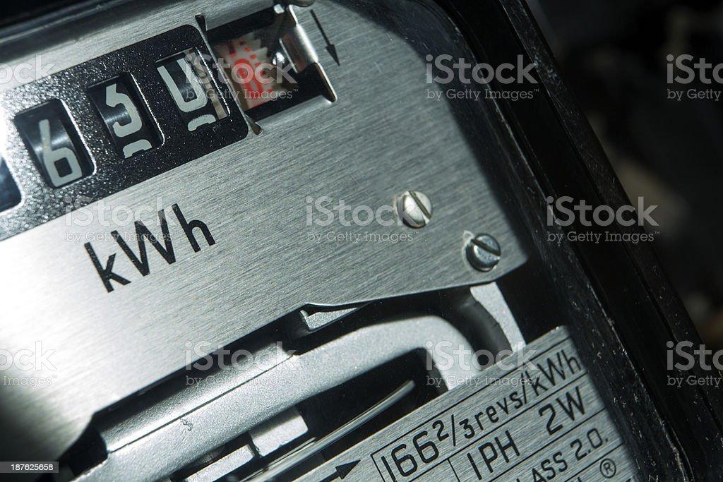 Medidor eléctrico - Foto de stock de Amperímetro libre de derechos