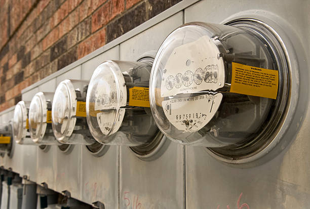 Electric Meter On House : Royalty free electric meter pictures images and stock