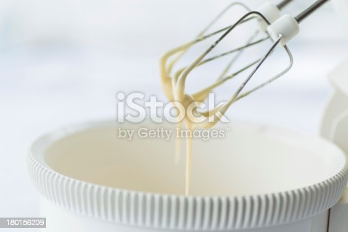 istock electric mixer with the dough 180156209