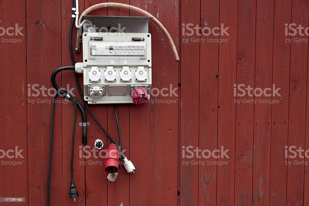 Electric Panel Outside Stock Photo & More Pictures of ... on