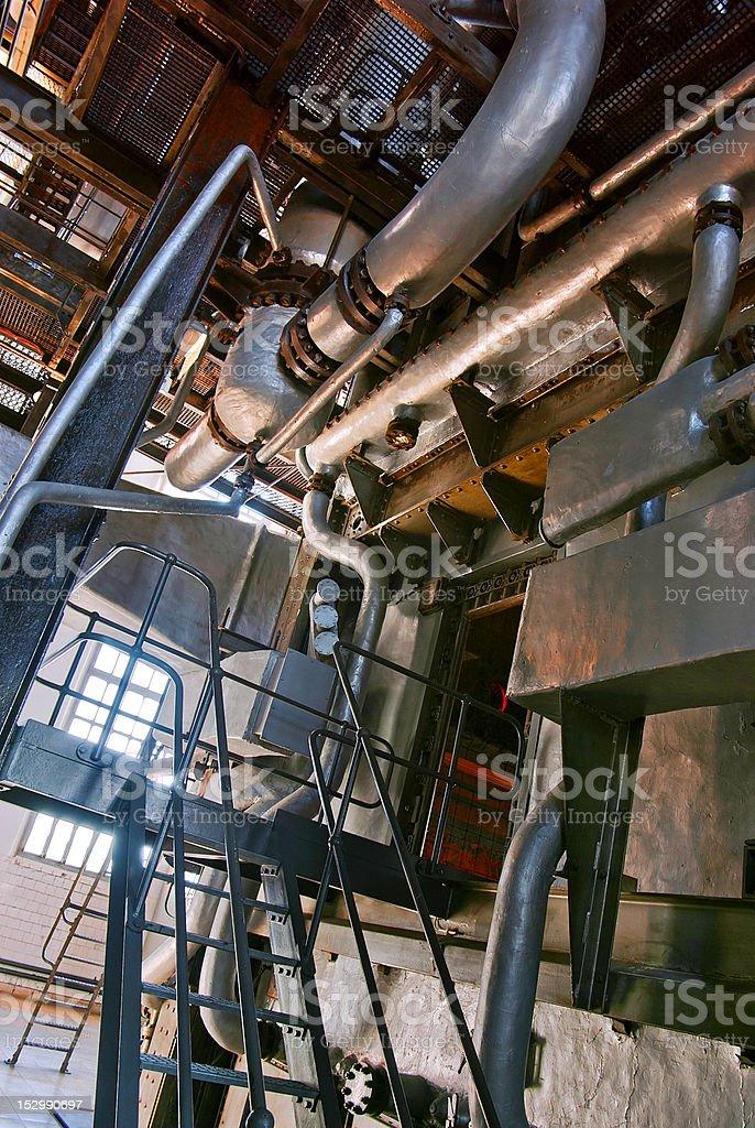 electric plant stock photo
