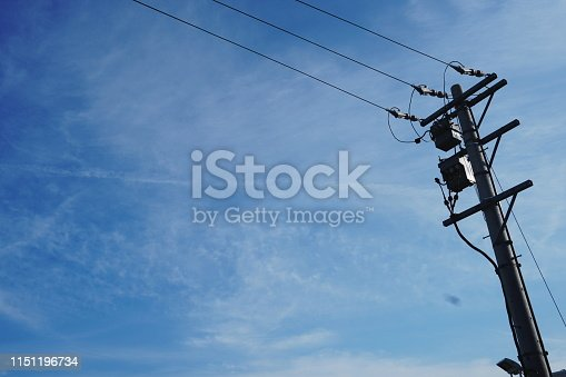 Electric Pole for Electricity Energy Distribution