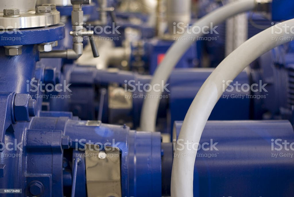 electric pump stock photo