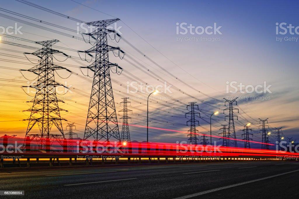 Electric Telefonmasten – Foto