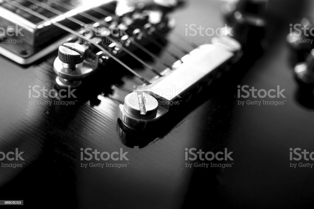 Electric quitar royalty-free stock photo