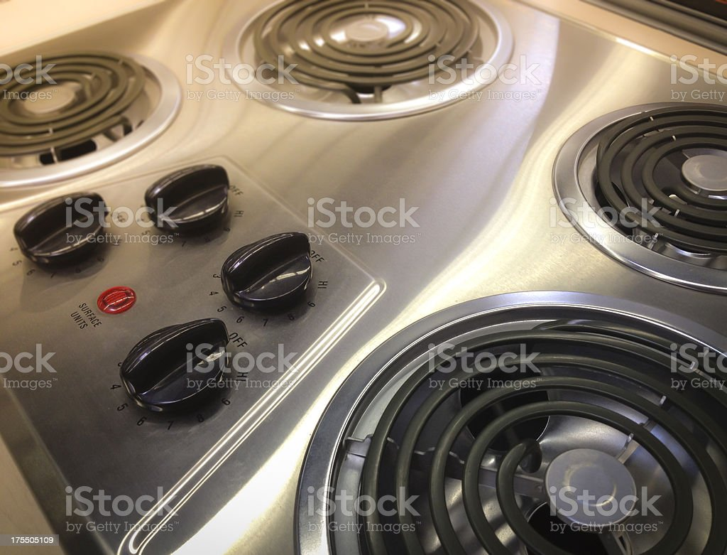 Electric Range stock photo