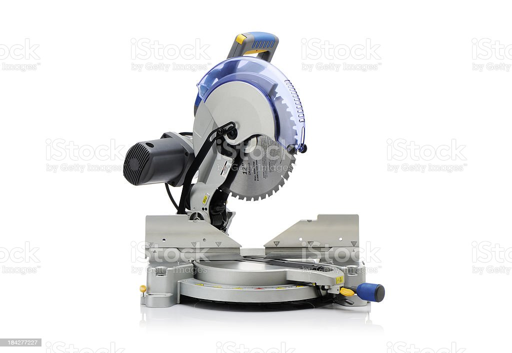 Electric saw stock photo