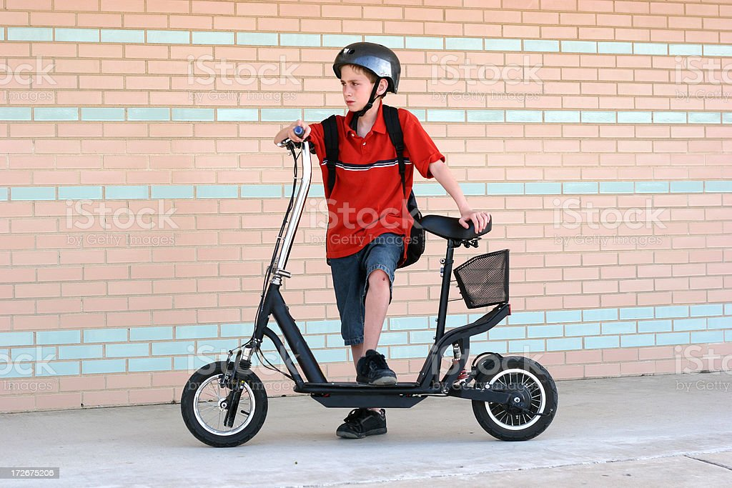 Electric Scooter II royalty-free stock photo