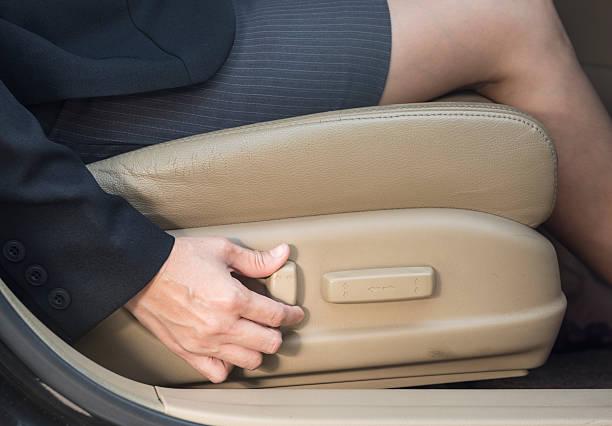 electric seat stock photo