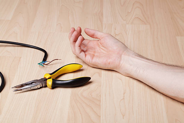 Electric Shock stock photo