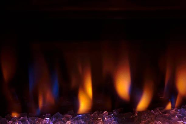 Elektroherd Flame-Effekt – Foto