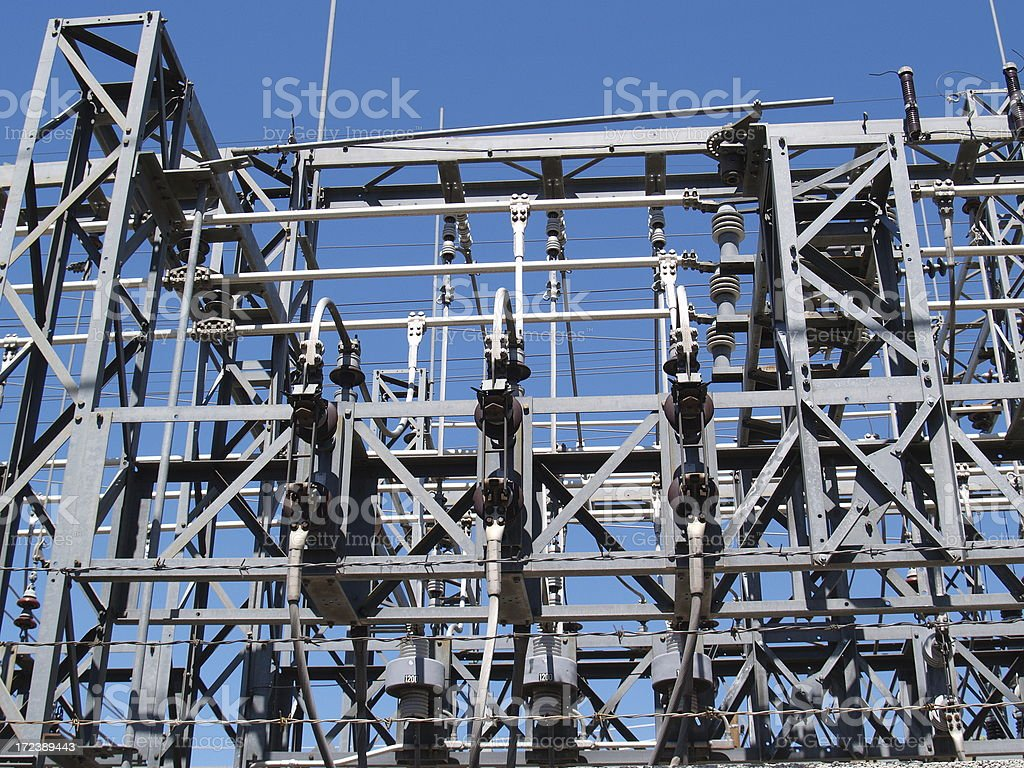 Electric Utility Output royalty-free stock photo