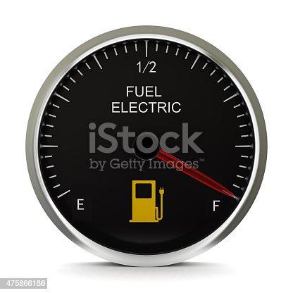 istock Electric Vehicle Battery Gauge 475866186