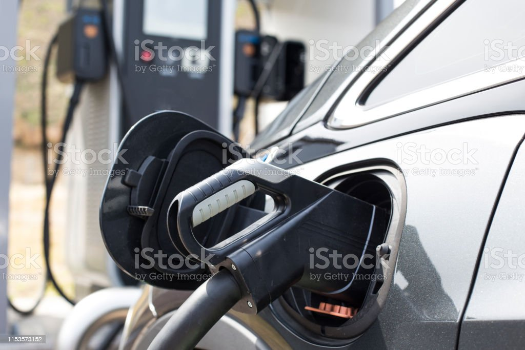electric vehicle charging station. EV
