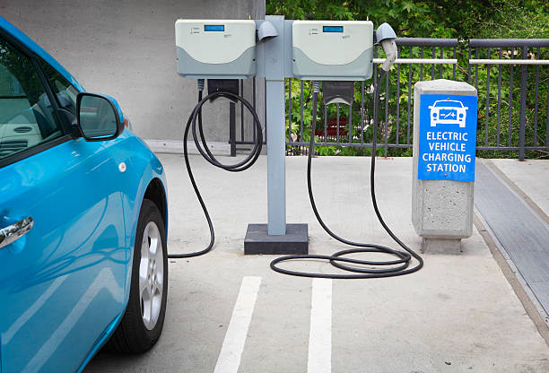 station de recharge pour véhicule électrique - Photo