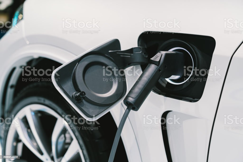 Electric Vehicle Charging System Ev Fuel For Advanced Hybrid Car ...