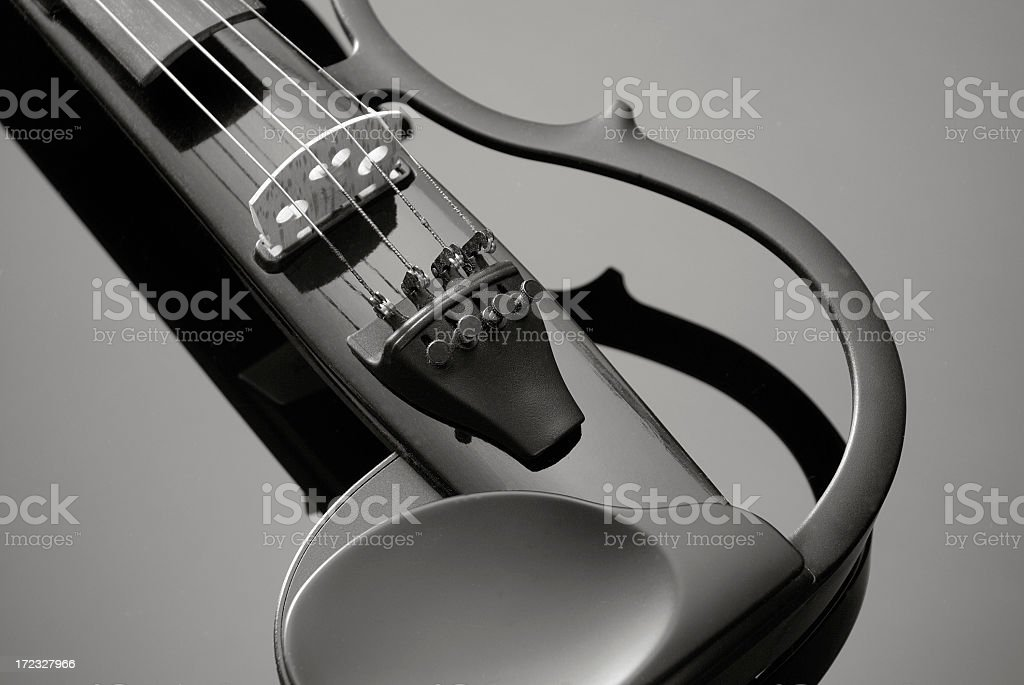 Electric Violin royalty-free stock photo