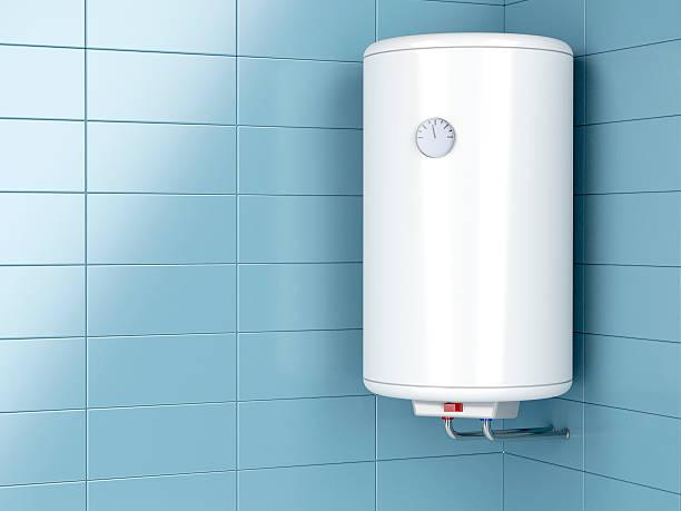 elektrische wasser-heizung - heißes wasser stock-fotos und bilder
