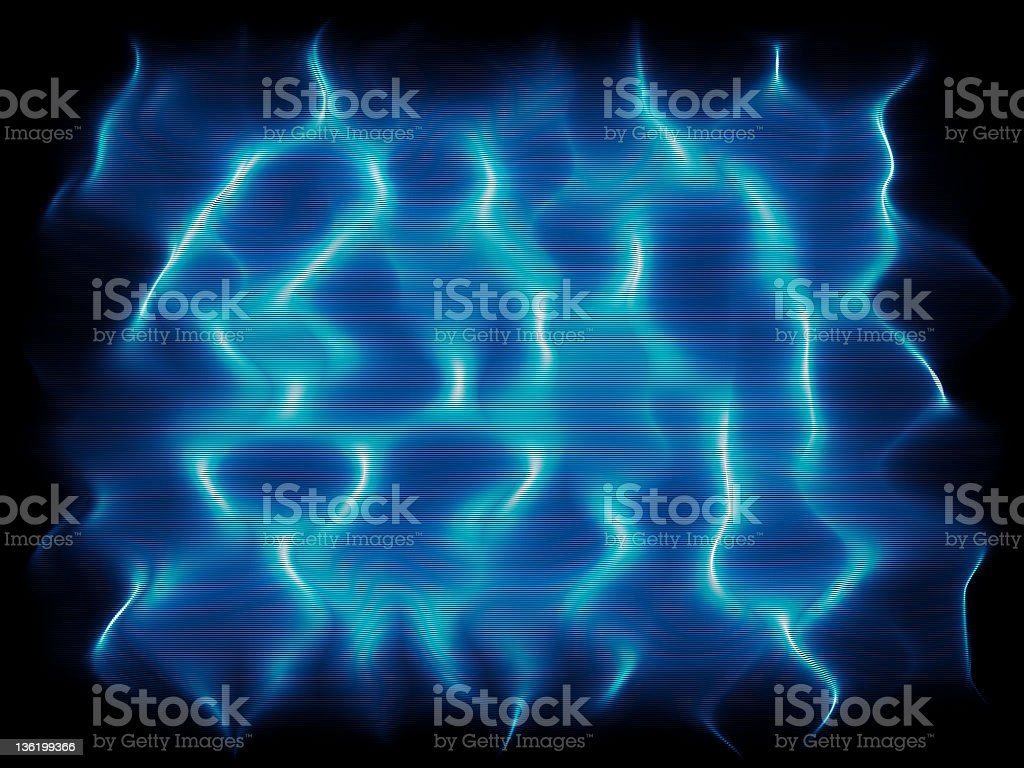 Electric waves royalty-free stock photo