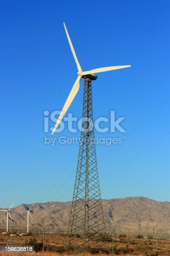 Sustainable & Renewable Energy from Wind, Palm Springs, CA