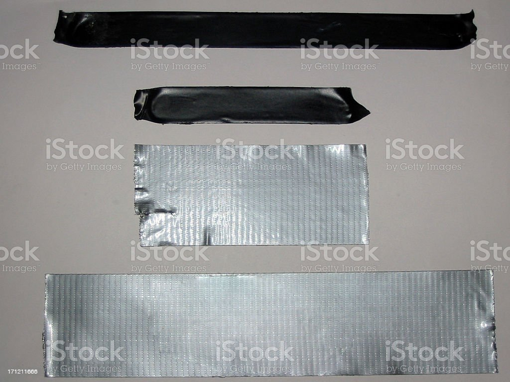 Electrical and Duct Tape stock photo