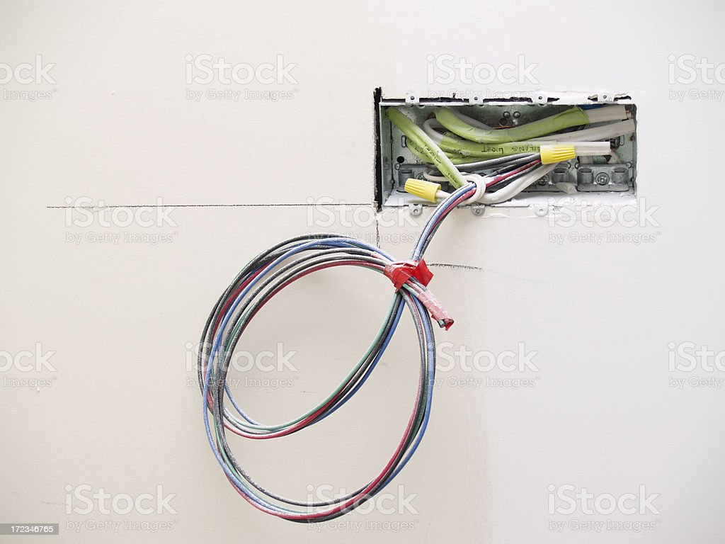 Electrical box royalty-free stock photo