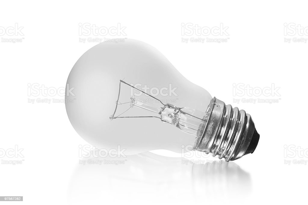 Electrical bulb royalty-free stock photo