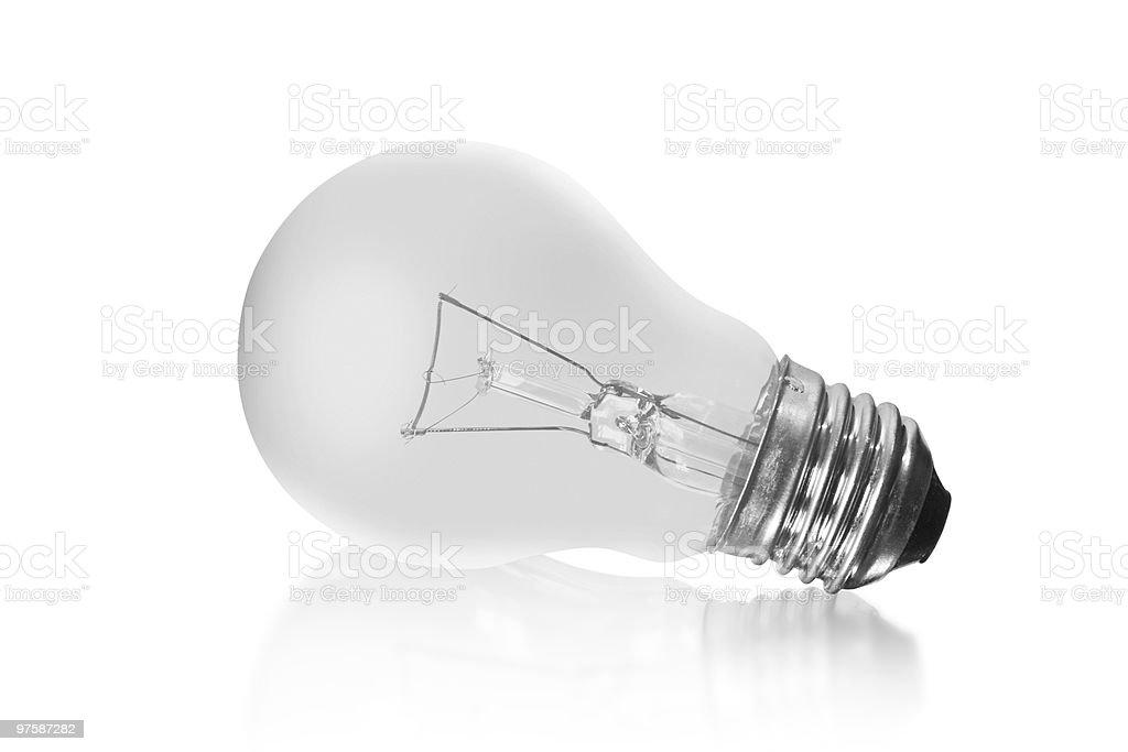 Electrical bulb royaltyfri bildbanksbilder