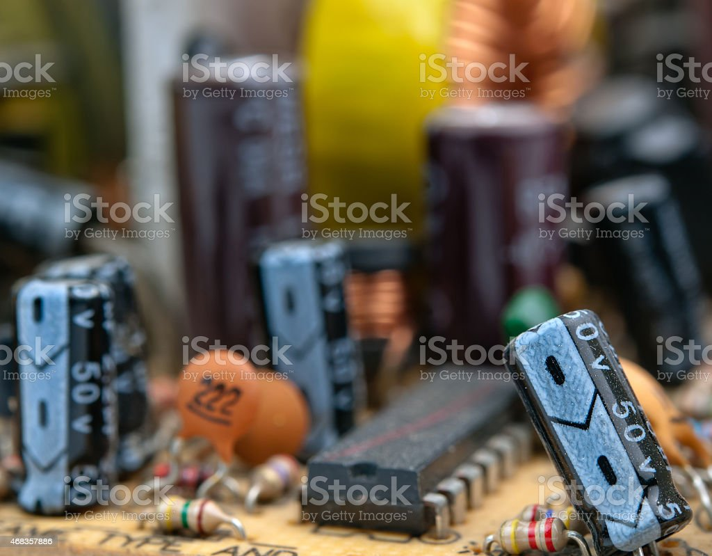 electrical circuit board royalty-free stock photo
