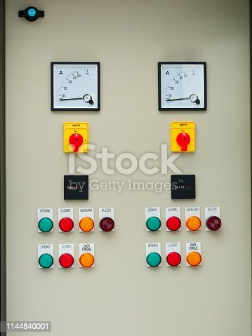 istock Electrical control cabinet 1144840001