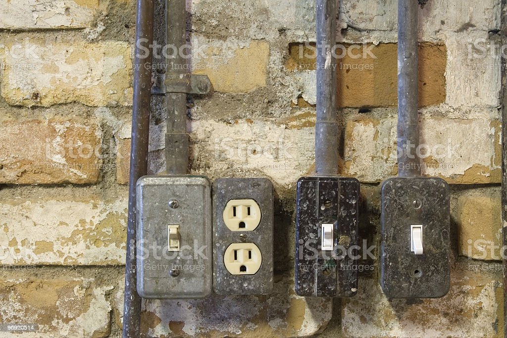 Electrical Devices royalty-free stock photo