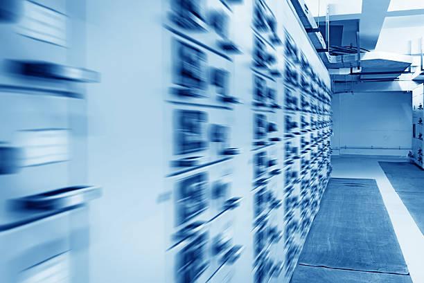 Elektrische Energie Vertrieb substation in einem Kraftwerk. – Foto