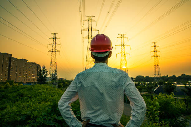 Electrical engineer Electrical engineer power occupation stock pictures, royalty-free photos & images
