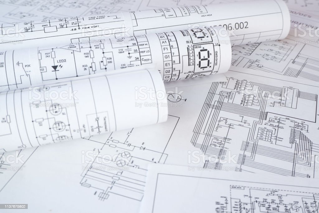 Electrical Engineering Drawings Stock Photo - Download Image ... on siding blueprints, machining blueprints, design blueprints, welding fabrication blueprints, engine blueprints, water heater blueprints, plumbing blueprints, industrial blueprints, mechanical blueprints, electronic blueprints, house blueprints, countertop blueprints, manufacturing blueprints, hydraulic blueprints, engineering blueprints, home blueprints, foundation blueprints, structural blueprints, automotive blueprints, computer blueprints,