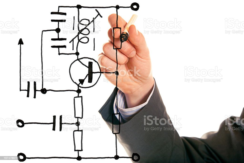 electrical engineering royalty-free stock photo