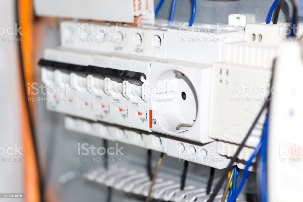 Electrical Equipment Components Installation In Fuse Box