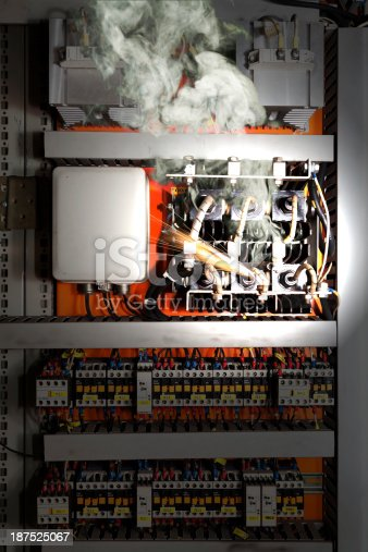 istock Electrical equipment malfunction 187525067