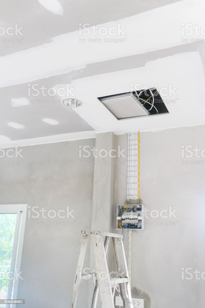 Electrical Installations stock photo