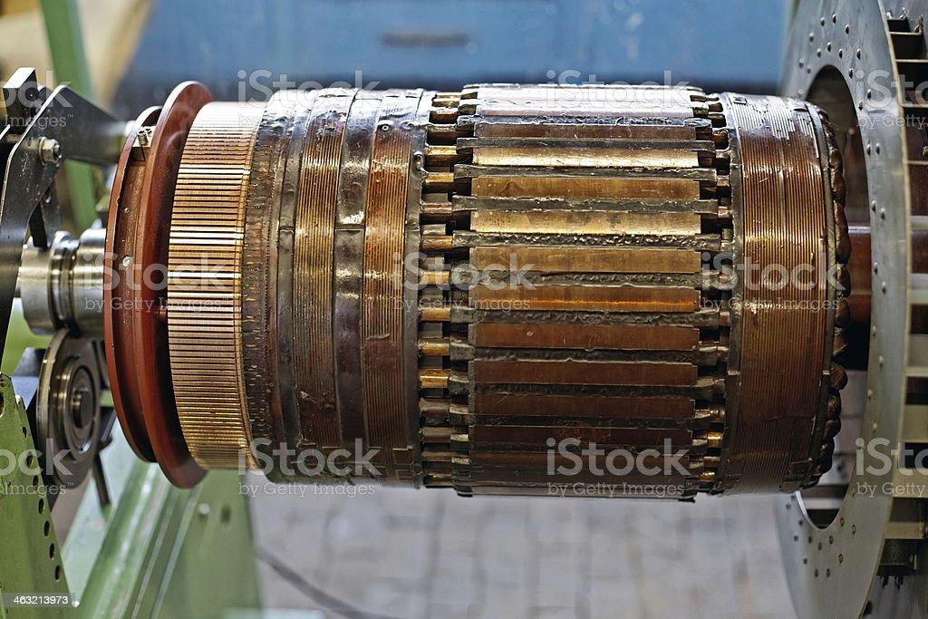 electrical motor stock photo